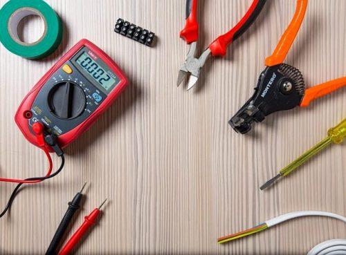 elektriker Charlottenlund verktøj