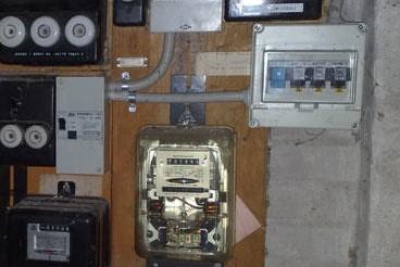 gammel el-tavle, bør udskifter nu