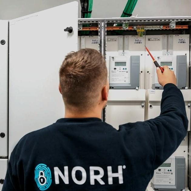 Nicolai er elektriker hos Norh Entreprise