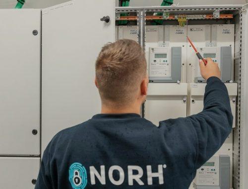 Nicolai er en elektriker hos Norh elektriker Brønshøj