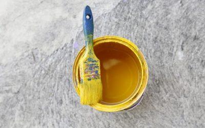 Vælg gul farve hvis du vil, hos Norh maler København.